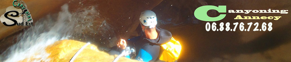 canyoning annecy canyons savoie